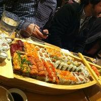 Photo taken at Sushi Para II by Emily B. on 1/13/2013