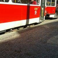 Photo taken at Průběžná (tram) by Šárka D. on 2/27/2017