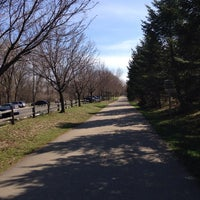 Photo taken at Portage Creek Bicentennial Park by Laura W. on 4/20/2014