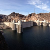 Photo taken at Hoover Dam by Matthew M. on 12/25/2012