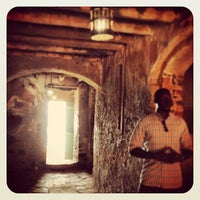 Photo taken at Gorée Island by Joana A. on 3/12/2013