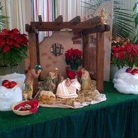 Photo taken at St. Maria Goretti Parish by Dana T. on 12/25/2012