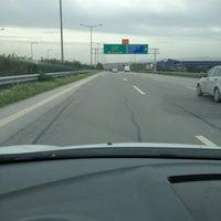 Photo taken at Izmir - Aydin Motorway by Mert S. on 3/14/2013