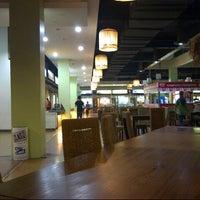 Photo taken at Kampung Priangan by akhmad h. on 10/19/2012