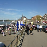 Photo taken at Rheinuferpromenade by Kirill P. on 5/5/2013