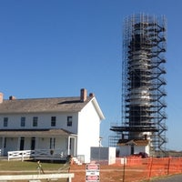 Photo taken at Bodie Island Lighthouse by Ms. Leigh @. on 11/12/2012