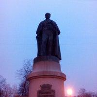 Photo taken at Памятник Иоанису Каподистрия by Darja S. on 4/27/2016
