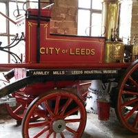 Photo taken at Leeds Industrial Museum at Armley Mills by Lada A. on 4/21/2016