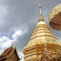 Photo taken at Wat Phrathat Doi Suthep by puth on 5/27/2013