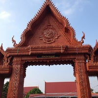 Photo taken at วัดไตรภูมิ by Oui68 on 10/27/2013