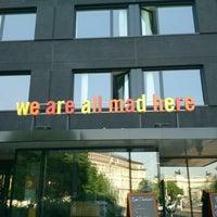Das Foto wurde bei 25hours Hotel Wien beim MuseumsQuartier von Anita | Travelita am 5/9/2013 aufgenommen