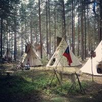 Photo taken at Громово by Sasha B. on 7/7/2013