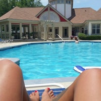 Photo taken at The Cobblestone Apartments Clubhouse And Pool by April M. on 6/7/2014