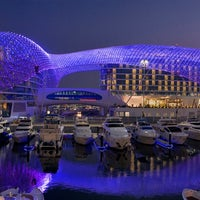 Photo taken at Yas Viceroy by Pearl Stone Trading LLC on 3/13/2013