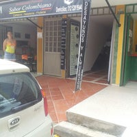 Photo taken at Restaurante Parrilla Sabor Colombiano by Carlos Mauricio T. on 3/13/2013