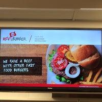 Photo taken at Rev Burger by Suburban Foodie on 2/28/2014