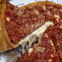 Photo taken at Lou Malnati's Pizzeria by Suburban Foodie on 8/1/2014