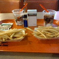 Photo taken at A&W by Mutiara P. on 4/23/2013