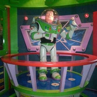 Photo taken at Buzz Lightyear Astro Blasters by Ingrid on 9/29/2013