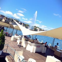 Photo taken at Grand Hotel Eden Lugano by AbdulRahman A. on 7/16/2017