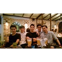 Photo taken at Bangkok Bitter, The Bar & The Restaurant by Narudol A. on 6/29/2014
