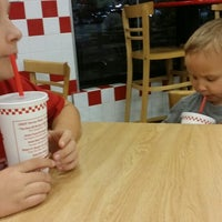 Photo taken at Five Guys by Jacqui H. on 2/20/2014