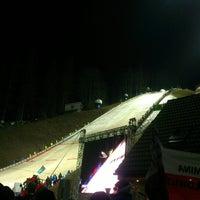 Photo taken at Skocznia Malinka im. Adama Małysza by Lukasz J. on 1/16/2014