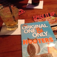 Photo taken at Hooters by The Blonde Gypsy on 4/1/2014