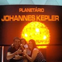 Photo taken at Planetário Johannes Kepler by Alan B. on 4/6/2013