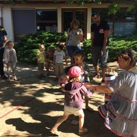 Photo taken at Ecole Maternelle du Sentier by Dilber D. on 6/20/2015