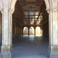 Photo taken at Bethesda Terrace by Marc-Andre N. on 3/5/2013