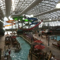 Photo taken at Jay Peak Pump House Waterpark by Marc-Andre N. on 3/9/2013