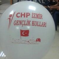 Photo taken at Cumhuriyet Halk Partisi İzmir İl Başkanlığı by Mehmet Emre M. on 4/19/2016
