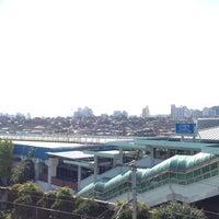 Photo taken at Sinimun Stn. by Seongsoo K. on 10/22/2013