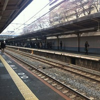 Photo taken at JR Mikunigaoka Station by sambo 3. on 3/23/2013