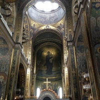 Photo taken at St Volodymyr's Cathedral by Evgen O. on 3/23/2013