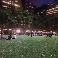 Photo taken at Bryant Park by Artur V. on 7/25/2013