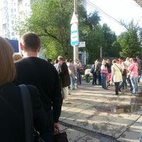 Photo taken at остановка «ул. Рахова» by Ilzi ♡. on 5/23/2013