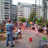 Photo taken at Детская площадка на Сиреневой, 31 by Евгений К. on 7/7/2013
