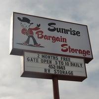 ... Photo Taken At Sunrise Bargain Storage By Sunrise Bargain Storage On  3/13/2013 ...
