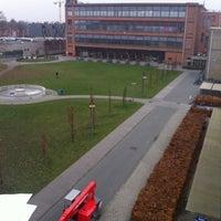 Photo taken at KU Leuven - Faculteit Industriële Ingenieurswetenschappen Campus Gent by Gert V. on 12/5/2014