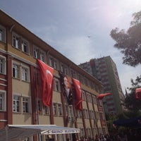 Photo taken at Medeni Berk İlkokulu by Huseyin S. on 4/23/2014