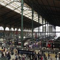 Photo taken at Paris Nord Railway Station by Sangmook L. on 6/12/2013