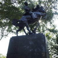 Photo taken at José Julian Martí Monument by Anna Vaughn Hyatt Huntington by Nnkoji on 8/28/2013