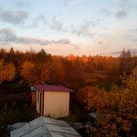 Photo taken at zapolie summer cottage by Alexander V. on 10/11/2013