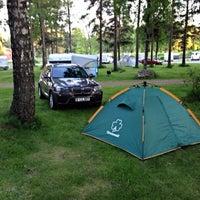 Photo taken at Camping Santalahti by AМ on 6/13/2015