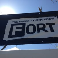 Photo taken at FADER Fort Presented by Converse by Jermaine C. on 3/13/2013