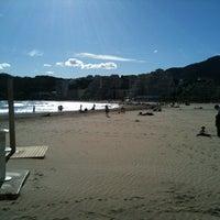 Photo taken at Playa De La Concha by Alicia CV on 4/2/2013
