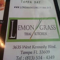 Photo taken at Lemon Grass Thai Kitchen by Brandon on 4/13/2013