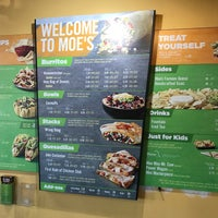 Photo taken at Moe's Southwest Grill by John W. on 7/30/2017